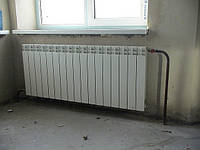 Монтаж систем радиаторного отопления