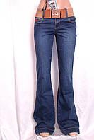 Стильные женские джинсы клеш оптом и в розницу Харьков