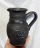 Молочник керамічний гончарний 450мл, фото 4