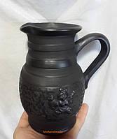 Молочник керамічний гончарний