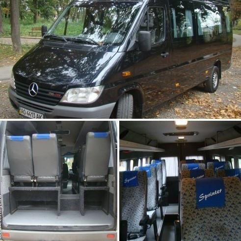 Микроавтобус в Краков ( 16 мест, цена за машину 300 ― 350 евро ) из Ужгорода