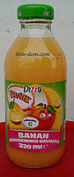 Сок детский Dizzy банан, груша, абрикос 330мл