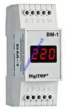 Вольтметр цифровой ВМ-1 DIN