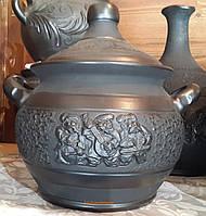Баняк - каструля 4л для запікання в духовках ручної роботи