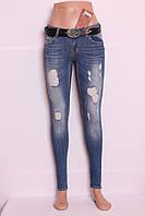 Женские рваные джинсы red sold jeans Турция