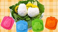 Формочки для вареных яиц BOILED EGG (детские формы для яиц Бойлед Эг)