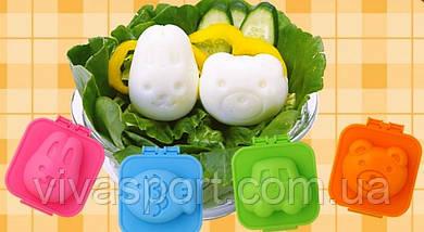 Декоративные формы для варки яиц BOILED EGG (детские формочки Боилед Эг)