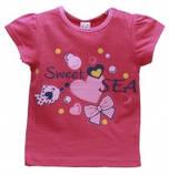 Летняя футболка на девочку 1-2 года Sea, фото 2