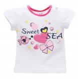 Летняя футболка на девочку 1-2 года Sea, фото 3