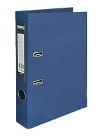 Папка-регистратор А4 50 мм  двухстор покрытие ВМ.3002-03 (т.син)
