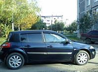Ветровики на Renault Megane II хэтчбек 5d 2002-2008