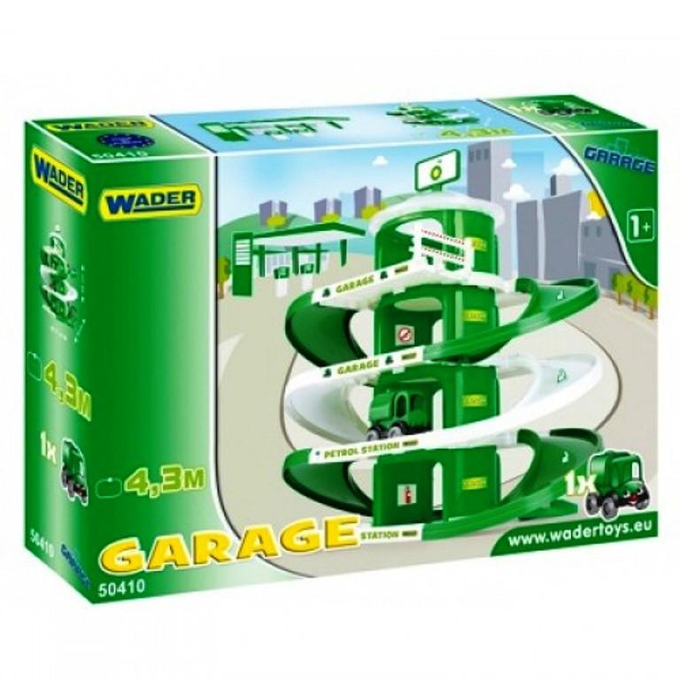Игровой набор Гараж BP Wader 50410
