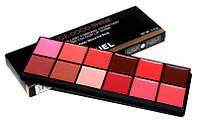 Профессиональная палитра помад для губ Chanel Rouge Coco Shine 12 Color Water Shine Lipstick
