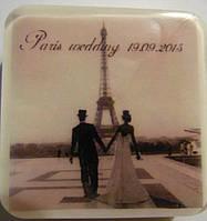 """Мыло для гостей """"Свадьба в Париже"""""""