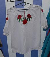 """Вишита сорочка для дівчинки """"Барви літа"""""""