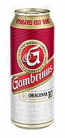 Пиво Gambrinus original 4.3 % 0.5 л ж\б . Гамбринус
