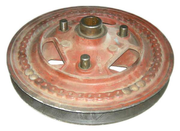 Шкив 54-2-120 вариатора барабана СК-5 НИВА (малый)