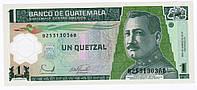 Банкнота Гватемала 1 кетсаль 2006, фото 1
