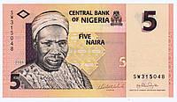 Банкнота Нигерия 5 найра 2006