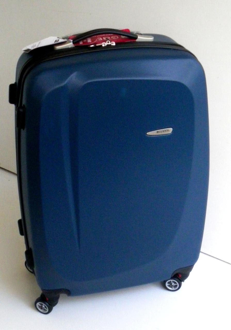 Чемодан дорожный Gabol Line (L) Blue (924669)  на колесах, пластиковый e7de6177ffc