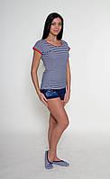 Летний женский комплект (футболка+шорты) ТМ Роксана