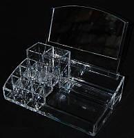 Органайзер для косметики пластиковый YRE MF-B012, органайзер для косметики на туалетный столик