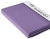 Простыня однотонная 180х240 сатин 06-Фиолетовый