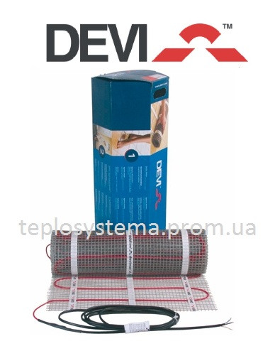 Теплый пол - Мат нагревательный DEVIcomfort 150T (DTIR-150) 274/300 Вт -  2,0 м2, Дания