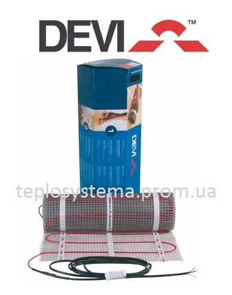 Мат нагрівальний DEVImat 200T (DTIF-200) 390 / 430 Вт - 2,1 м2, DEVI Данія, фото 2