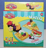 "Набор для творчества Кондитерская -  ""Waffle"" - Тесто для лепки (аналог Play-Doh)"