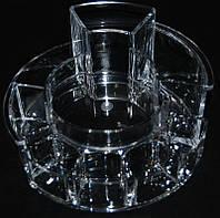 Подставка для кистей и косметики круглая YRE MF-B002