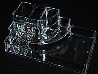Органайзер для кистей и косметики пластиковый YRE SF-1118