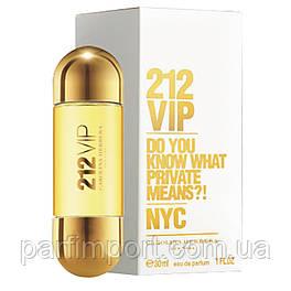 Carolina Herrera 212 VIP EDP 30 ml Парфюмированная вода (оригинал подлинник  США)
