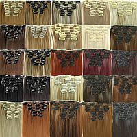 Трессы из натуральных волос на заколках