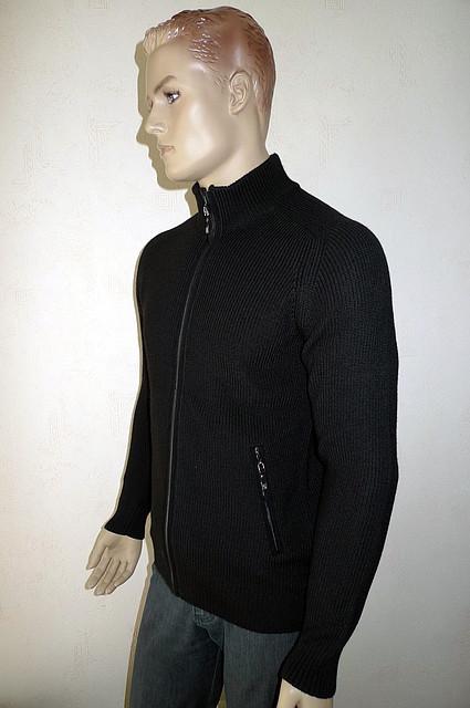 Кардиган Gianni Marcelo черного цвета