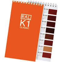 Каталог цветов RAL  Classic 210
