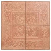 Керамогранит STILE RAX27 Декор з 4-х плиток ROSA COTTO CLASSICO 65х65 см