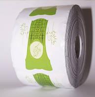 Формы  для наращивания ногтей (зеленые) 500 шт