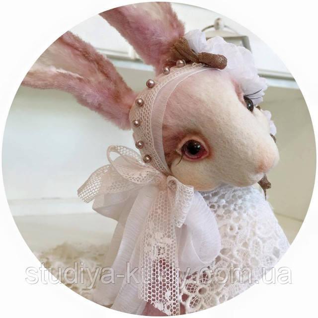 Студия куклы начинает набор на мастер-класс Татьяны Садовской! Мастер-класс по созданию кролика в стиле тедди с мордочкой в технике сухого валяния.