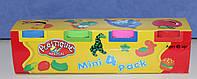Набор массы для лепки Plasticine Magical  4 цвета *65 грамм -  (аналог Play-Doh)