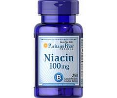 Niacin 100 mg 100 tabs