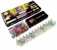 Набор резинок для плетения браслетов Лум Бэндс, резиночки Loom Bands 600 шт. в наборе, фото 1