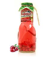 """Кизиловый Компот """"Багдан"""" в стеклянной бутылке - 1 литр"""