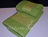 Набор хлопковых полотенец с вышивкой