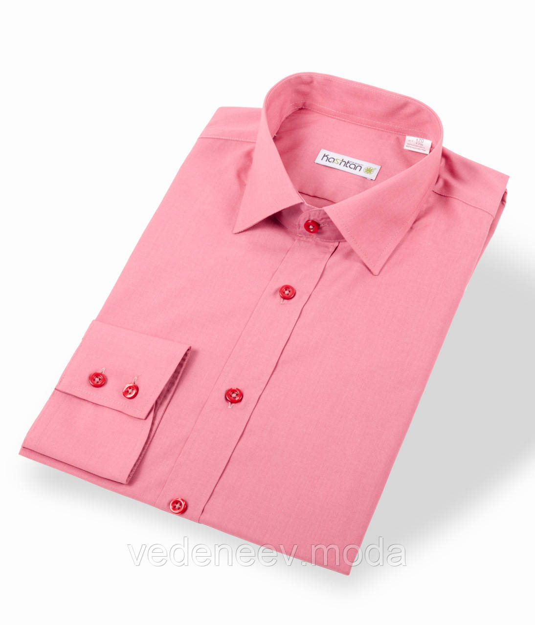 Темно-розовая рубашка