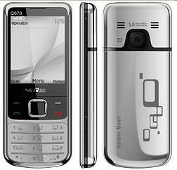 Мобильный телефон Nokia 6700 silver Нокиа 6700 2Sim (Качественная копия)