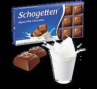 Шоколад Schogetten Alpine Milk Chocolate (Альпійське молоко) - 100 г.