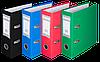 Папка-регистратор А5  70мм ВМ.3013-04 (зел)