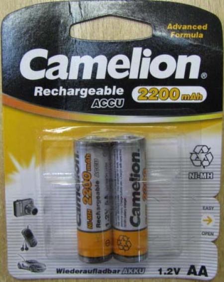 Акумулятор Camelion R6 2200 mAh Ni-MH