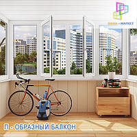 Балкон Хрущевка цены Киев